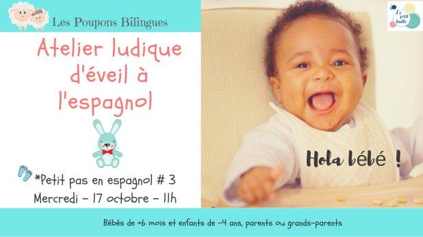 LPB Atelier espagnol # 3 - octobre 17